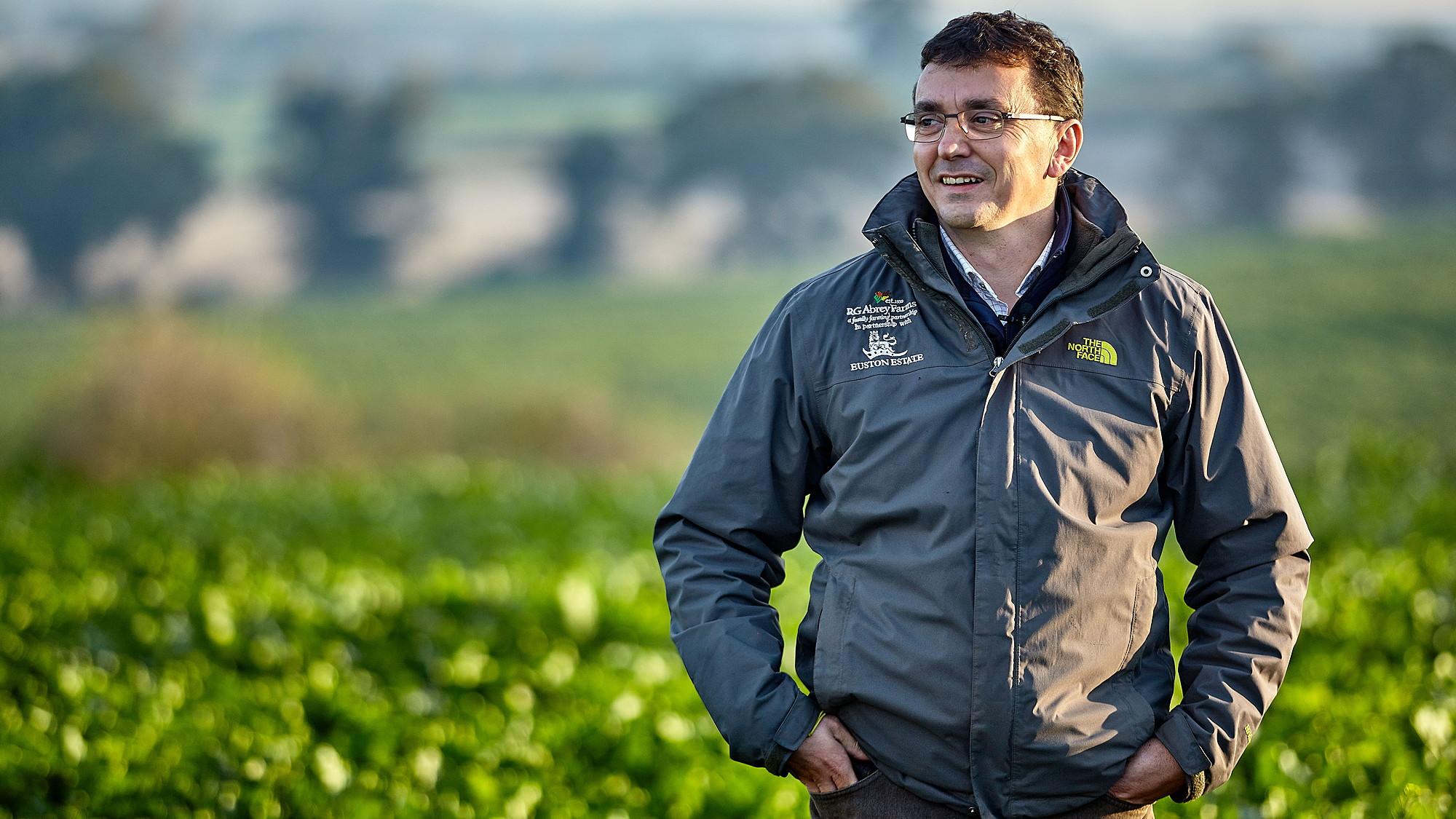 Matthew Hawthorne manages Euston Estate's farming operations