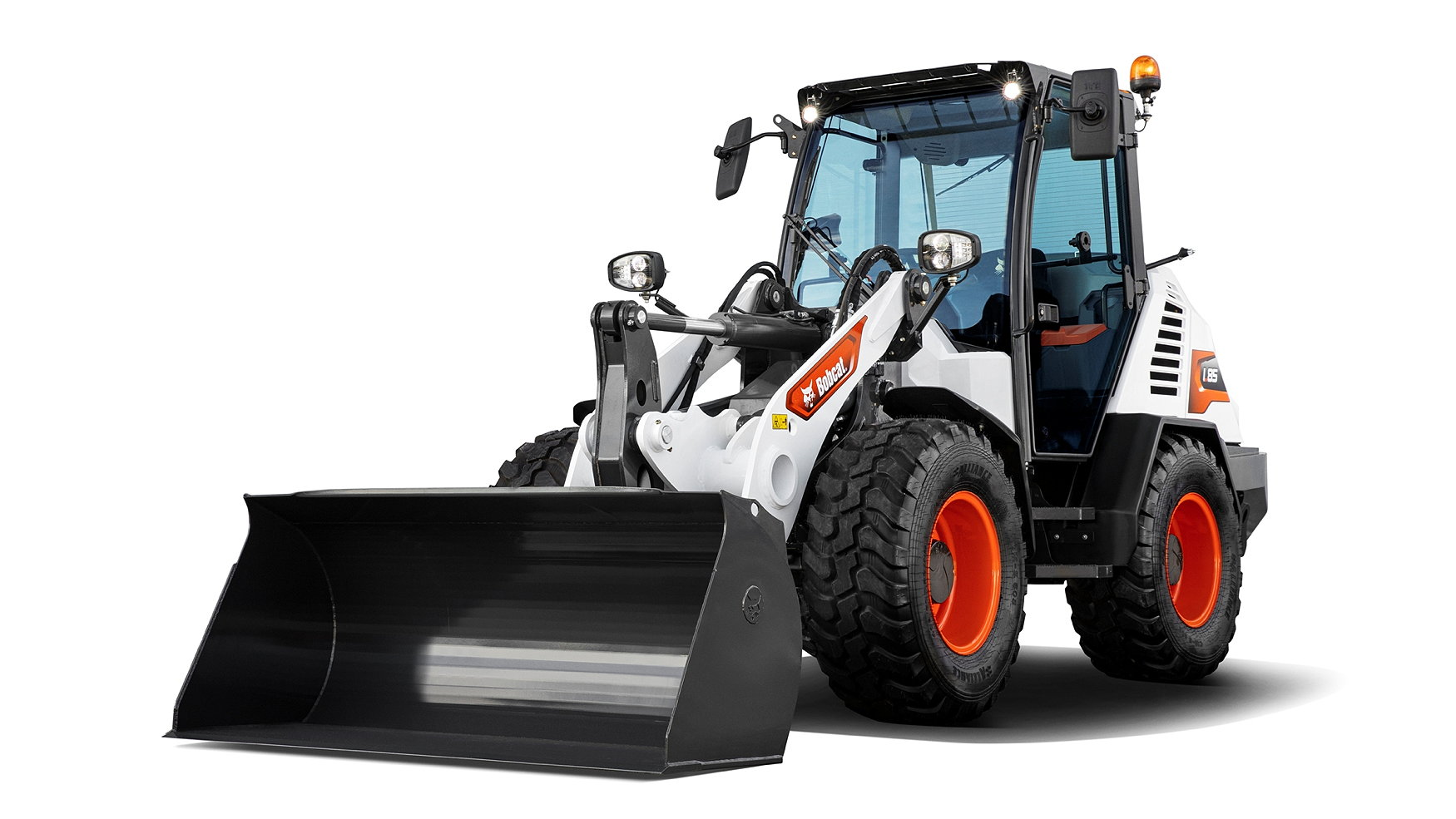 Bobcat's new L85 wheeled loader