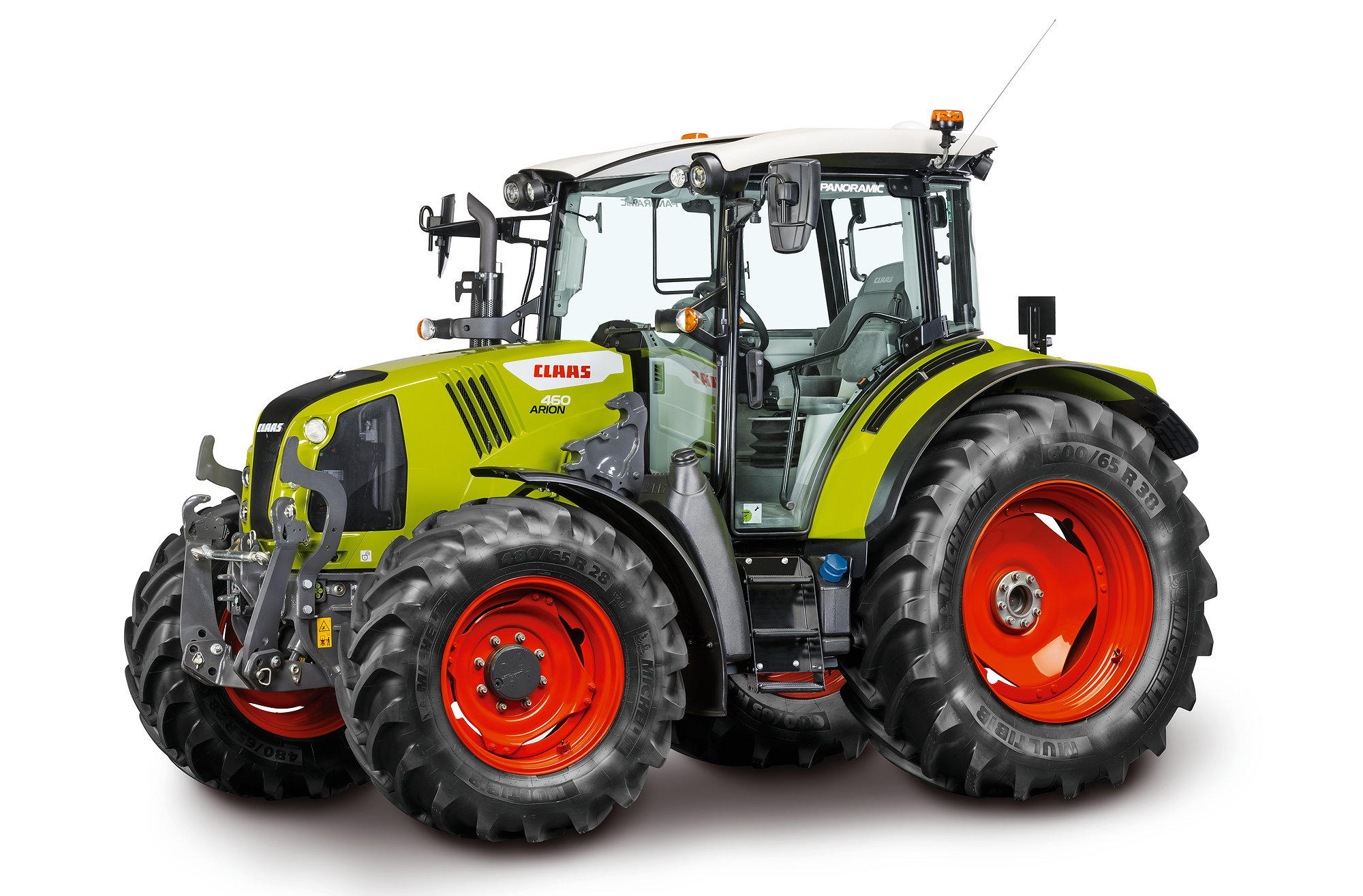 Claas' Arion 400 Series will appear in Stage V emissions format from Autumn 2021.