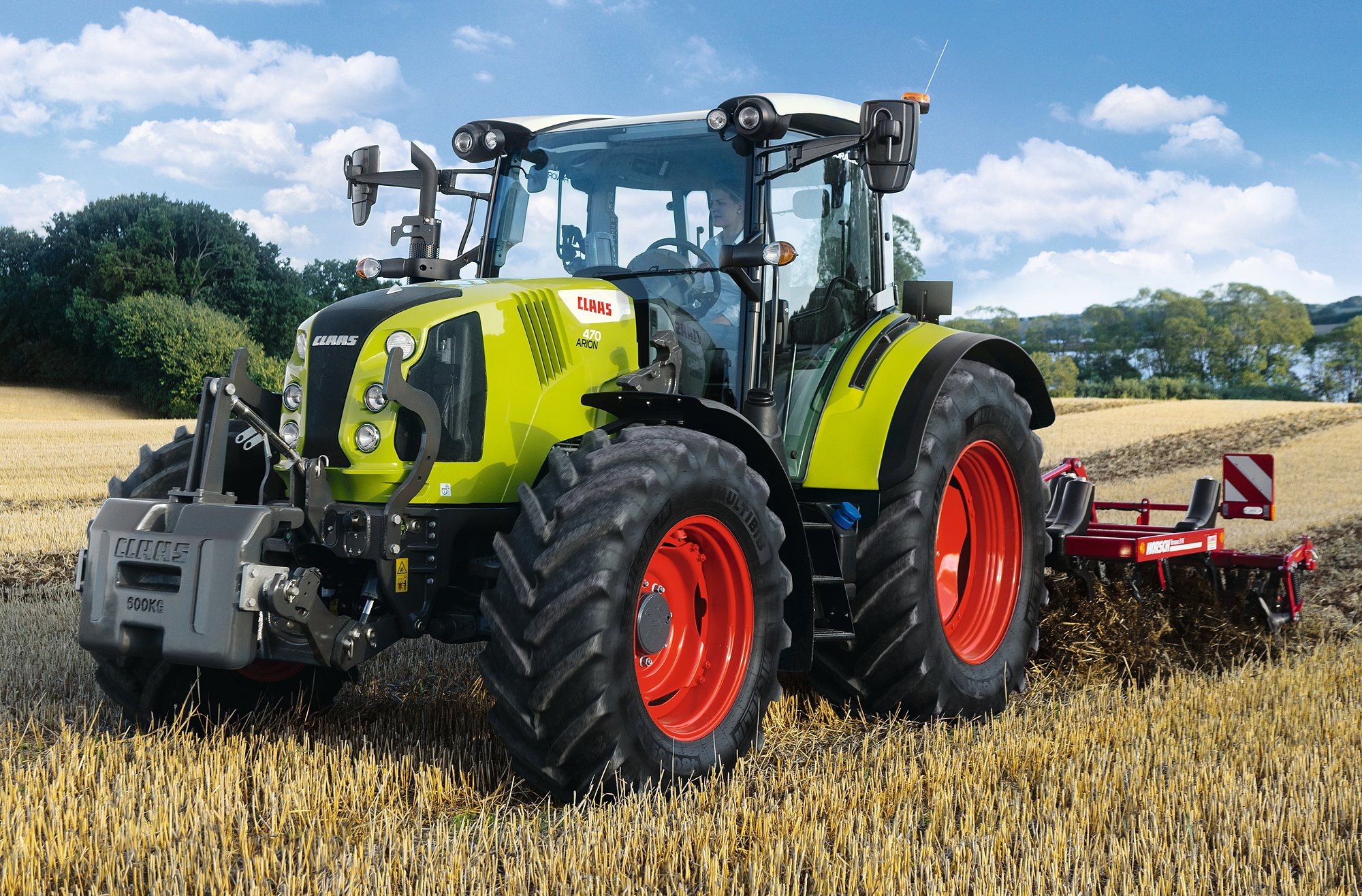 The new flagship Arion 470 offers up to 155hp with CPM.