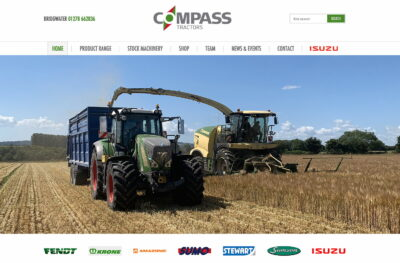 Compass Tractors has been appointed a JCB dealer.