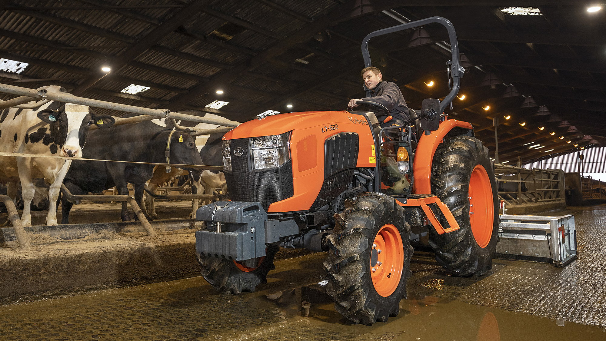 The new Kubota L1522 offers 55hp.
