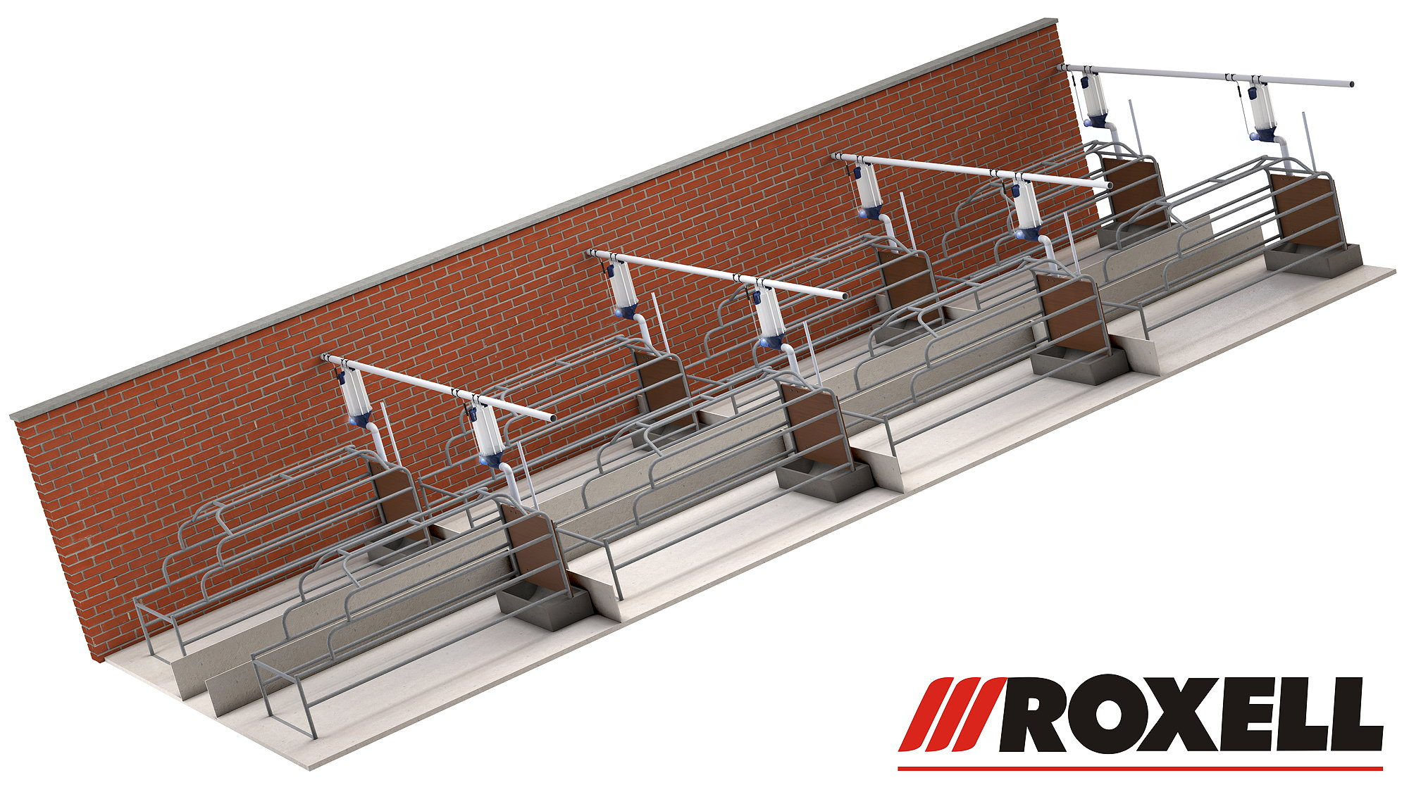 Roxell has introduced the new Fidos farrowing smart feed dispenser especially for lactating sows