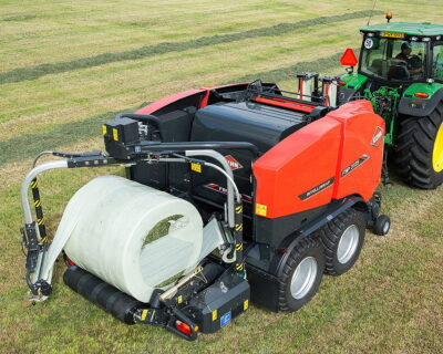 Bale weighing technology on Kuhn's FBP and VBP BalePack baler-wrapper combinations will help farmers and contractors monitor dry matter production more accurately
