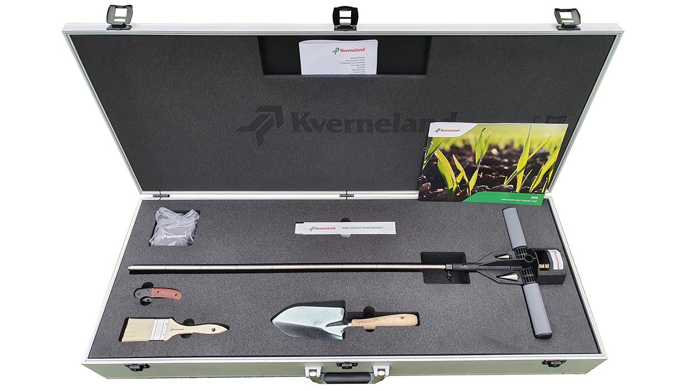 Kverneland's new soil testing kit