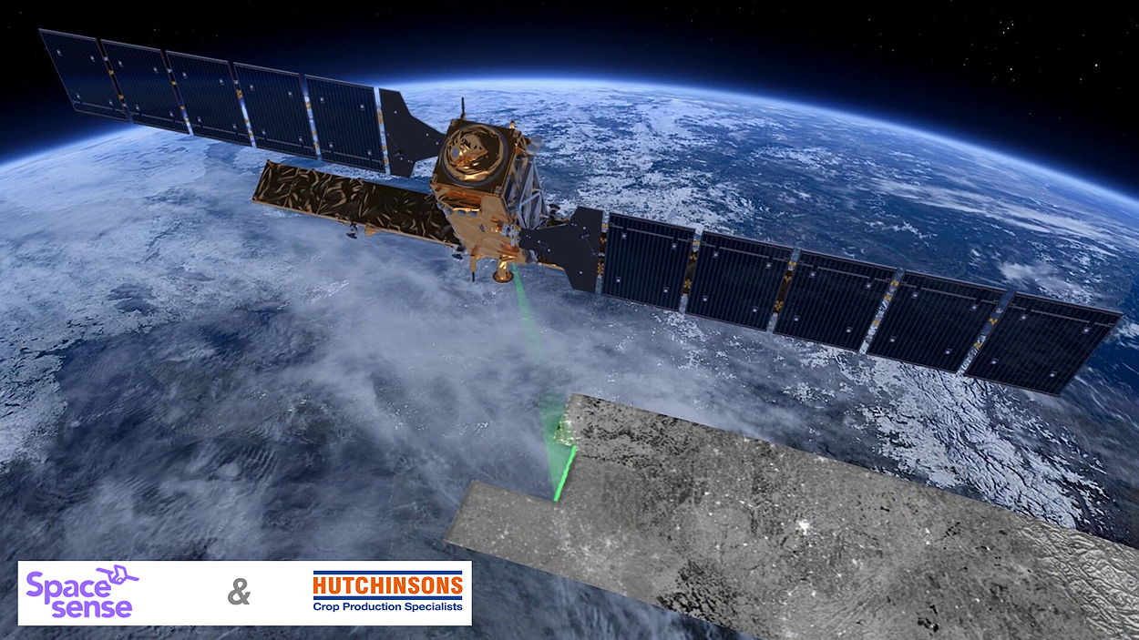 SpaceSense's Beyond Cloud technology uses radar satellites to provide above-ground biomass information in any weather conditions