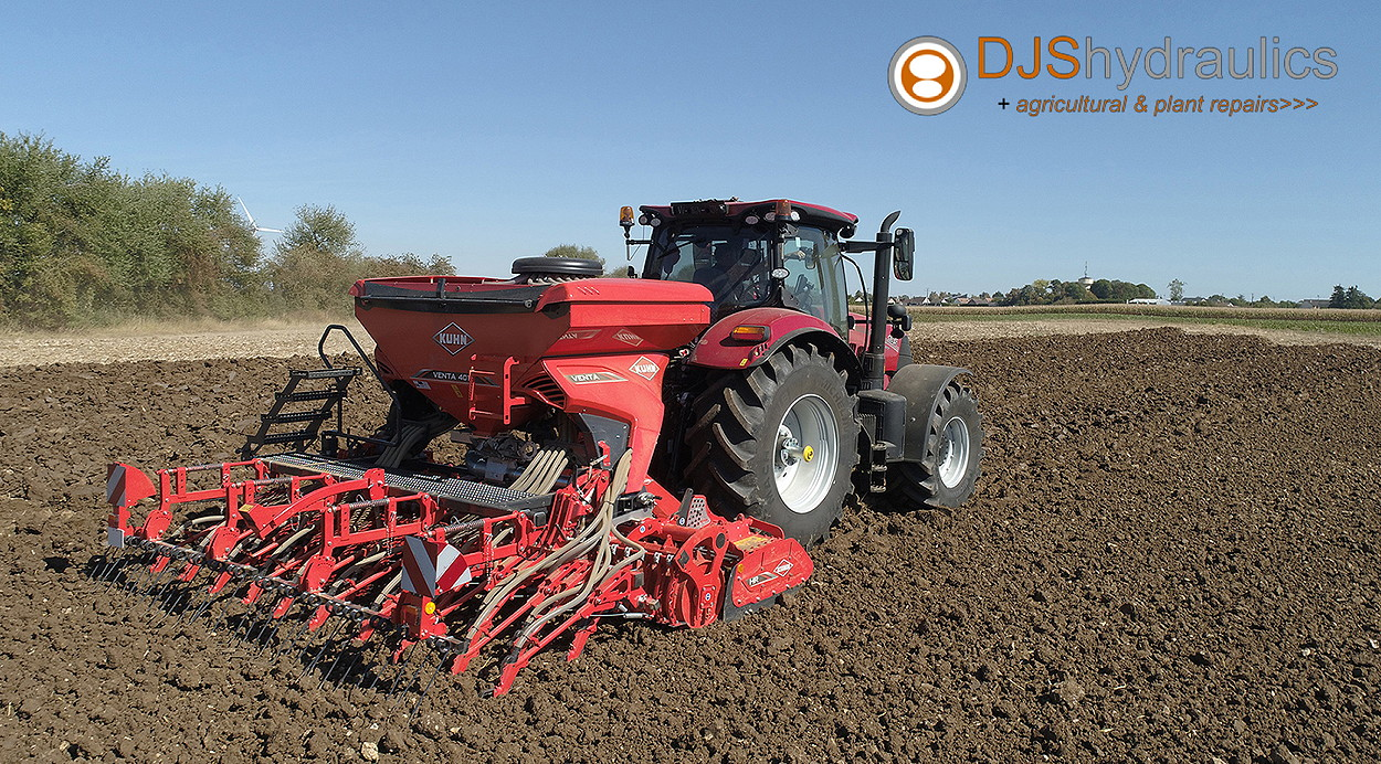 Kuhn's range of farm machinery is now available on Anglesey through new dealer DJS Hydraulics