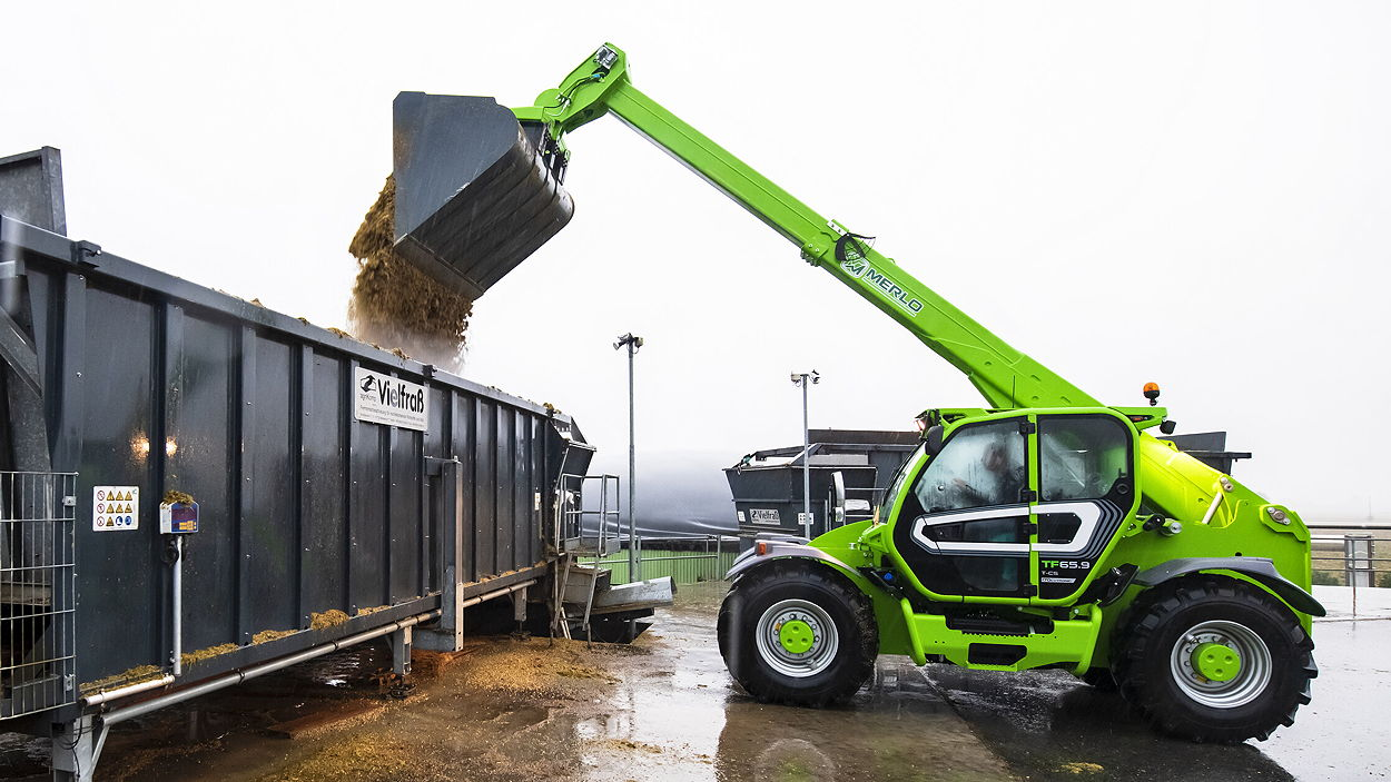 The TF65.9TCS170-HF offers a maximum lift capacity of 6.5t and a maximum lift height of 8.80m