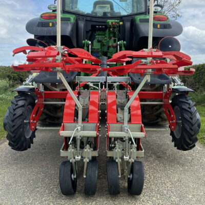 The Twin Drive Transplanter from Spapperi