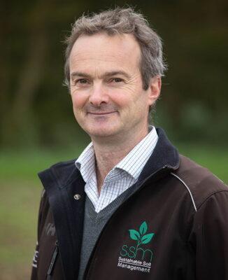 Ian Robertson is Hutchinsons' head of soil health