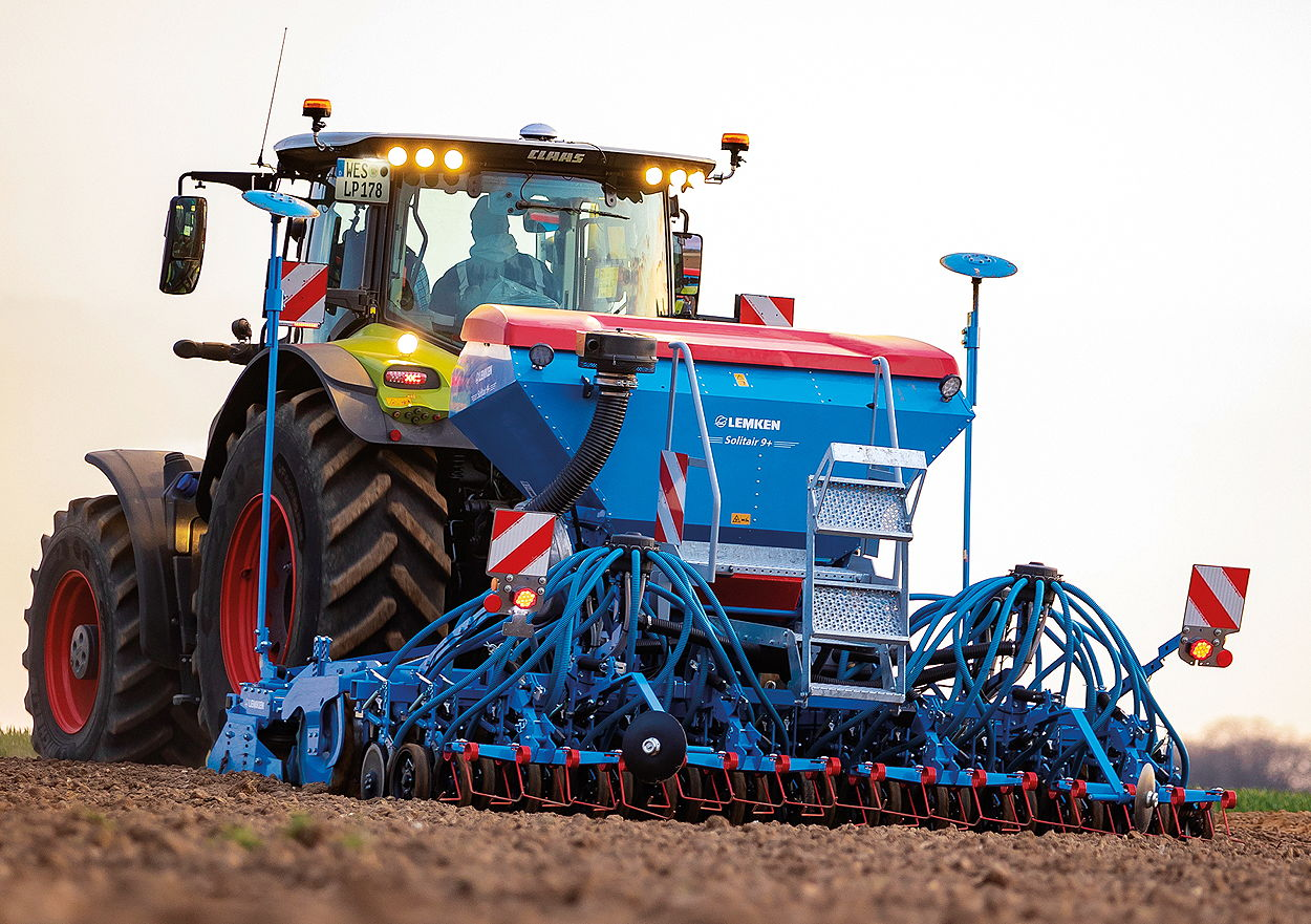 The Lemken Solitair 9+ Duo offers new options for arable farmers