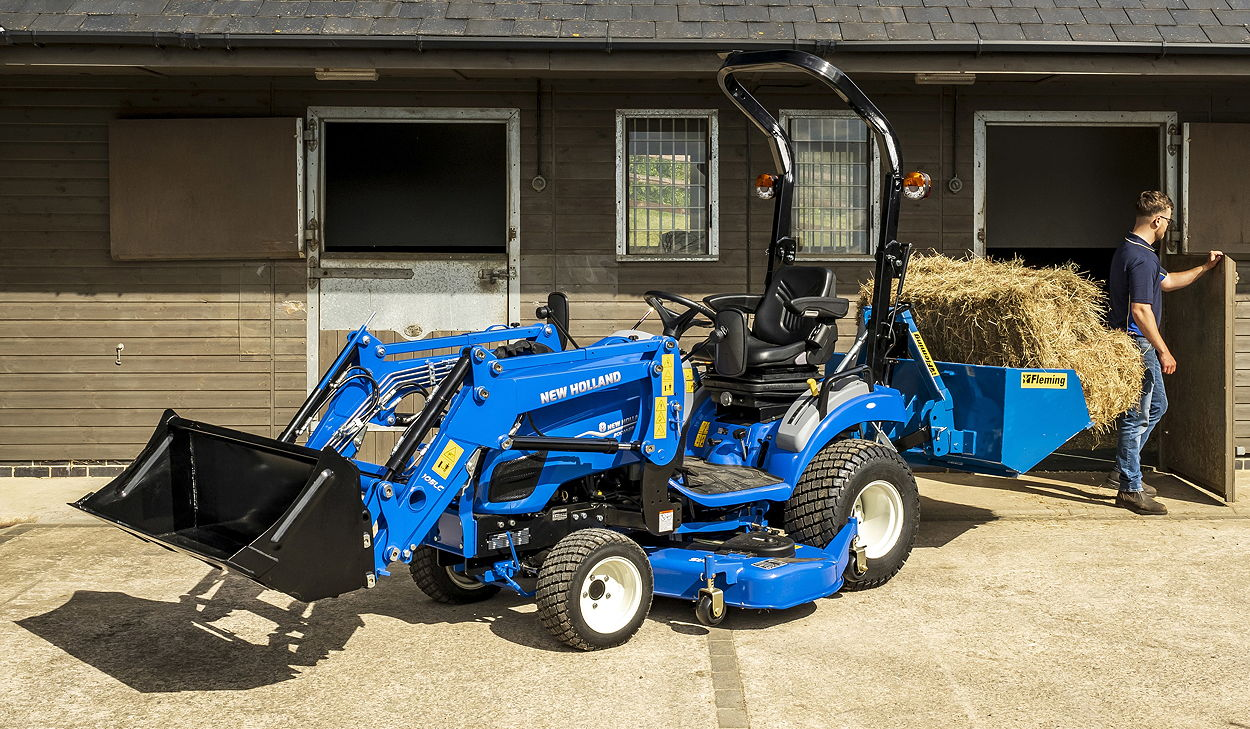 The Boomer 25C rated at 24hp sits at the bottom of the new range