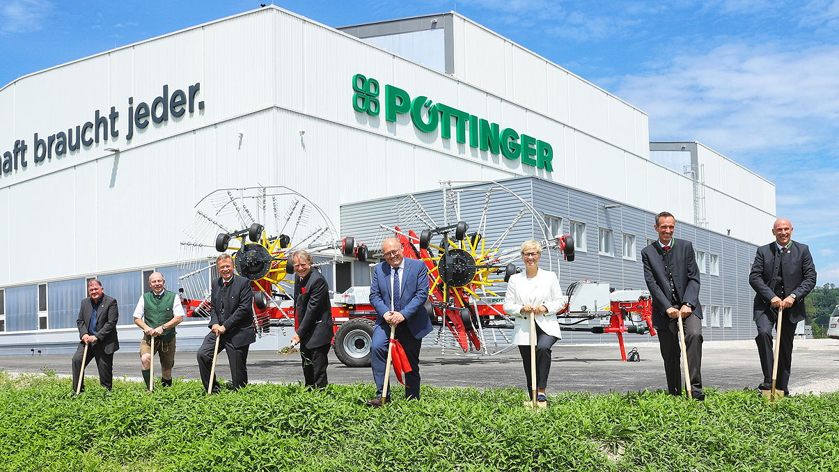 Phase two of the development plans at Pöttinger's St Georgen site are now underway