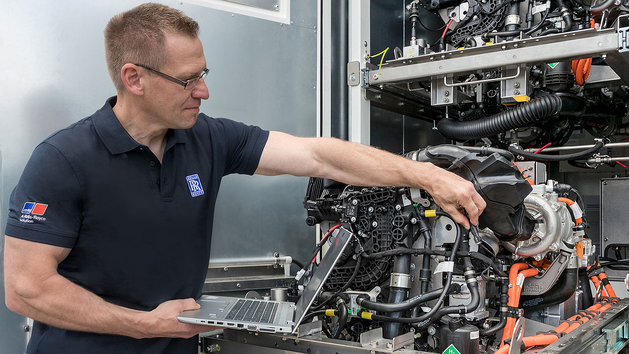 Rolls-Royce Power Systems is setting up a demonstrator at Friedrichshafen to test sustainable and climate-friendly power supply technology based on fuel cells