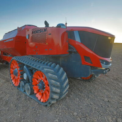 Michael Horsch says the days of tractors with air-conditioned cabs and a showy bonnet are coming to an end