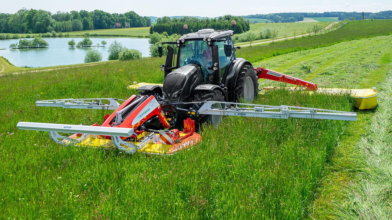 Pöttinger's SensoSafe system detects hidden wildlife in forage crop