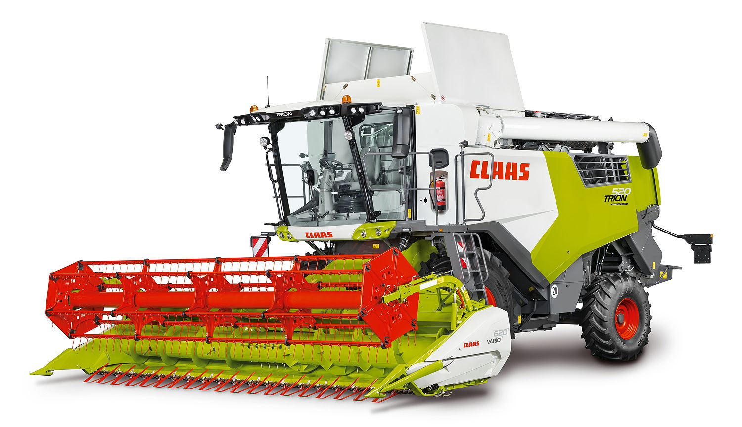 The new Claas Trion range starts with the 520 model