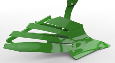 Amazone's SpeedBlade plough body offers a selection of different slatted and solid mouldboard profiles
