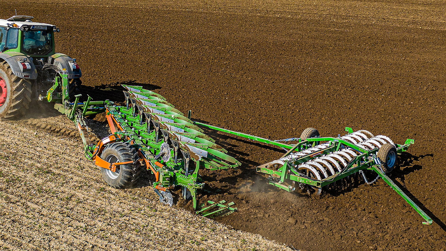 The new Tryok plough from Amazone has been built for tractors of up to 400hp