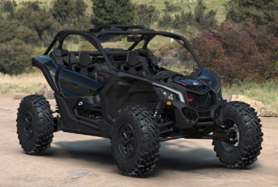 The 2022 Can-Am Maverick X3 X DS Turbo RR offers 200hp