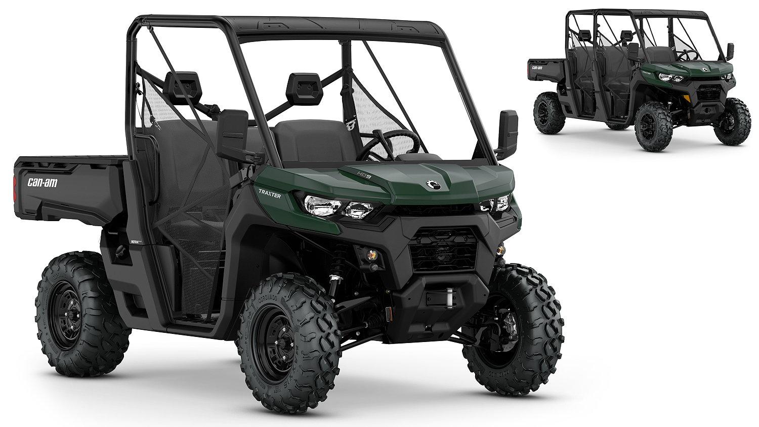 Can-Am's 2020 Traxter side-by-side and four-seater models