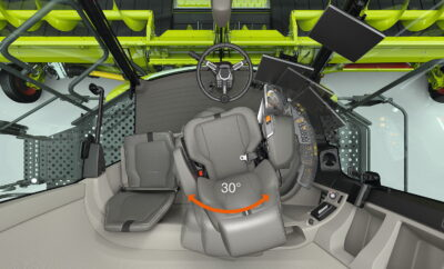 The completely new Claas Trion cab
