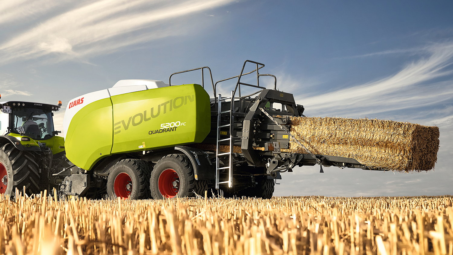 Claas has revamped its Quadrant balers for 2022