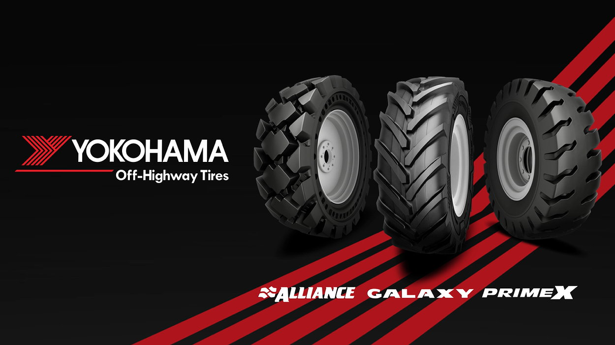 Yokohama OHT owns the Alliance and Galaxy brands that both sell patterns for the agricultural and groundscare sectors