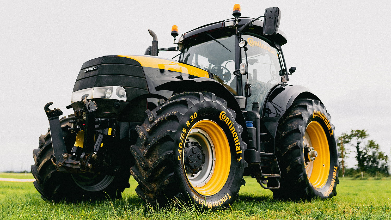 Continental's TyreMaster tyres are now an approved OEM fitment to Case IH tractors