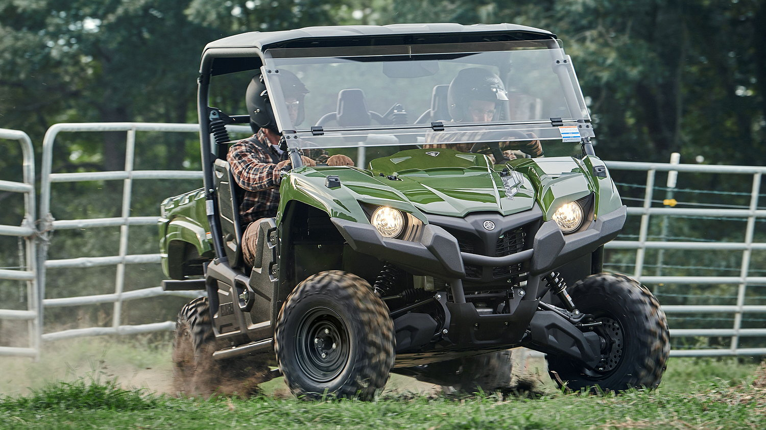 Yamaha now offers the three seat Viking and four seat Wolverine RMAX