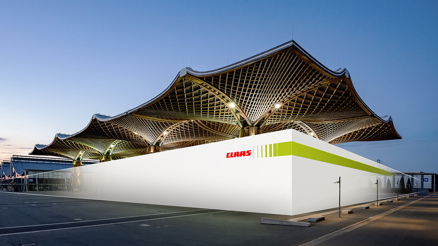 Claas will exhibit outdoors at Agritechnica 2022