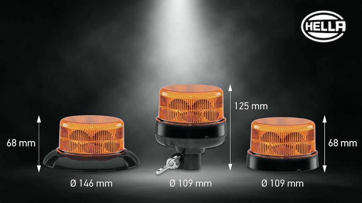 Hella's K-LED Nano beacon