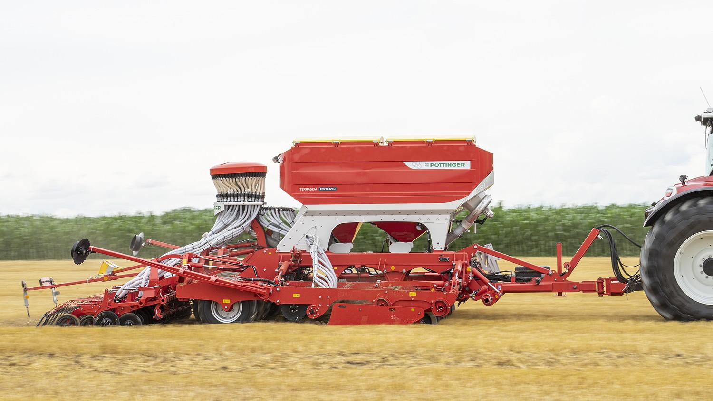 The Pöttinger Terrasem V6000DZ is on the market from November 2021